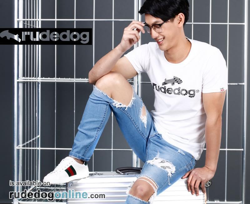 เสื้อยืด rudedog รุ่น Logo 2018