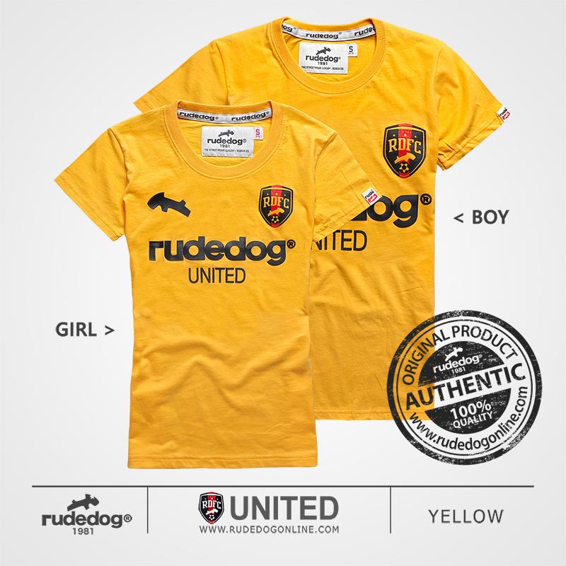 เสื้อยืด rudedog รุ่น United